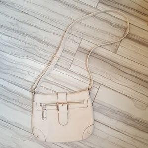 Aldo cream crossbody